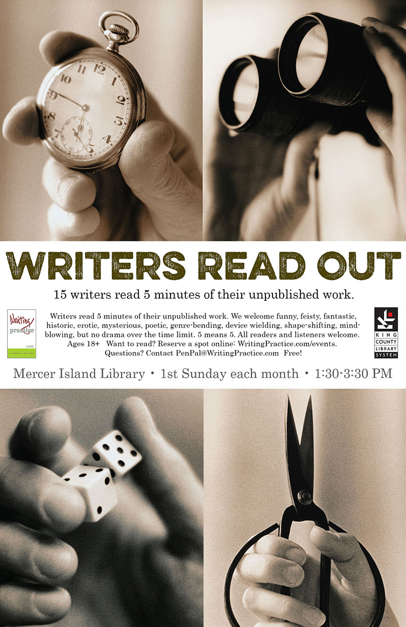 Writers Read Out – Mercer Island Library | Writing Practice